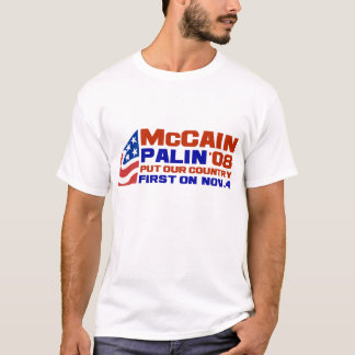 T-shirt McCain et Palin