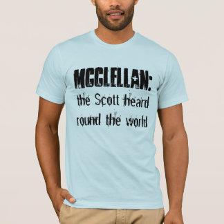 T-shirt McClellan :  Scott a entendu autour du monde