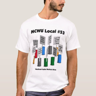 T-shirt MCWU local#53