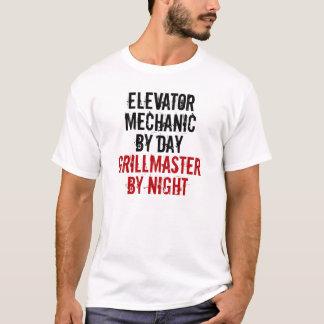 T-shirt Mécanicien d'ascenseur de Grillmaster