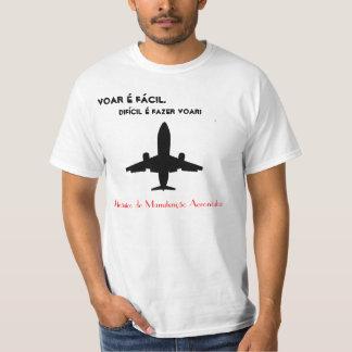T-shirt Mécanique de Manutention Avion