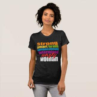 T-shirt méchant de femme