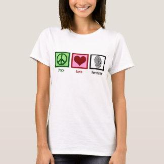 T-shirt Médecines légales d'amour de paix