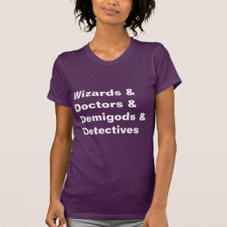 T-shirt Médecins Demigods Detectives de magiciens de