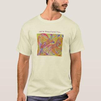 T-shirt Médias mélangés abstraits vifs