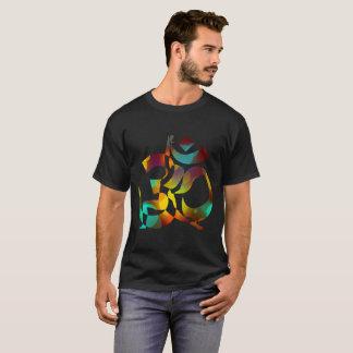 T-shirt Méditation 8 colorée