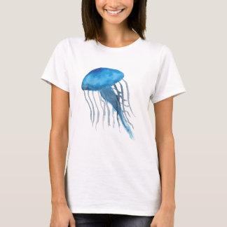 T-shirt Méduses bleues