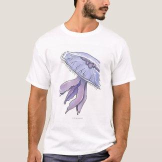 T-shirt Méduses illustrées