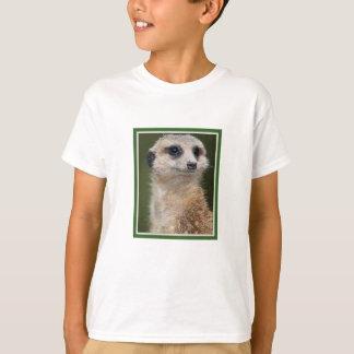 T-shirt Meerkat sur le regard