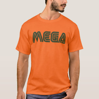 T-shirt Méga- orange