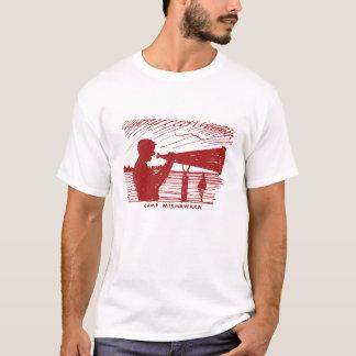T-shirt Mégaphone de Mishawaka de camp