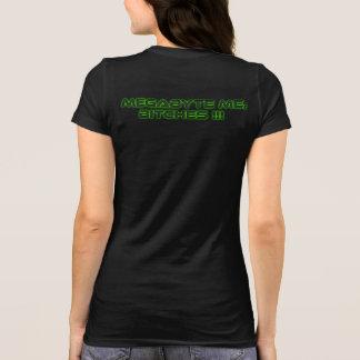 T-shirt Megatbyte des femmes je pièce en t