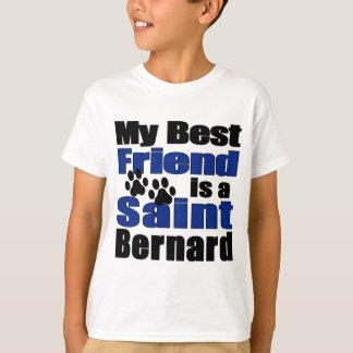 T-shirt Meilleur ami St Bernard