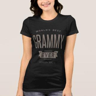 T-shirt Meilleur Grammy du monde jamais