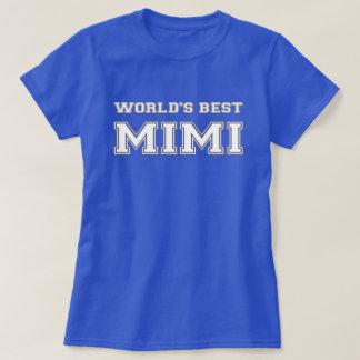 T-shirt Meilleur Mimi du monde