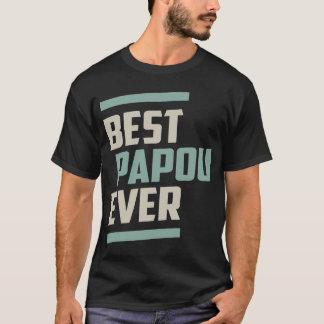 T-shirt Meilleur Papou jamais