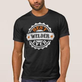 T-shirt Meilleur soudeur vintage jamais