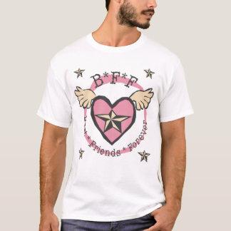 T-shirt Meilleurs amis de B*F*F pour toujours pour les