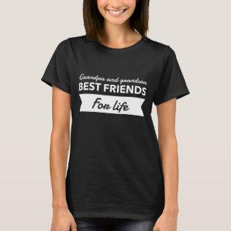 T-shirt Meilleurs amis de grand-papa et de petit-fils
