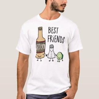 T-shirt Meilleurs amis de tequila