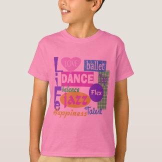 T-shirt Mélange de danse