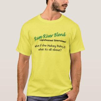 T-shirt Mélange de rivière de rhum - Pokey à l'eau de rose