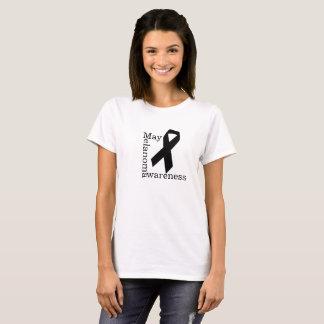 T-shirt Mélanome Awarness