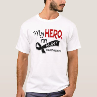 T-shirt Mélanome MON HÉROS MA TANTE 42