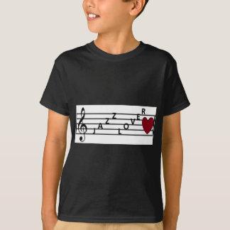 T-shirt Mélomanes de jazz