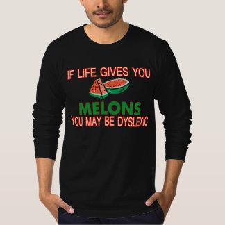 T-shirt Melons dyslexiques