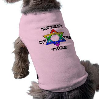 T-shirt Membre des chemises de chien de tribu