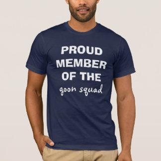T-shirt MEMBRE FIER DE, peloton de crétin