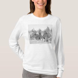 T-shirt Membres survivants de la bande du grand pied