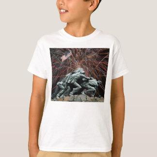 T-shirt Mémorial de guerre de Corp. marine avec la chemise