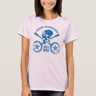 T-shirt Ménagerie d'herbe (bleue)