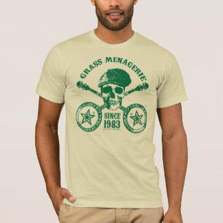 T-shirt Ménagerie d'herbe (vert)