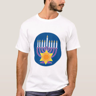 T-shirt Menorah