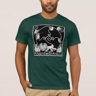 T-shirt Men'sT-Chemise :  Jugendstil - Affentheater