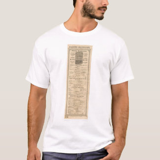 T-shirt Menu du restaurant des mineurs (1083A)
