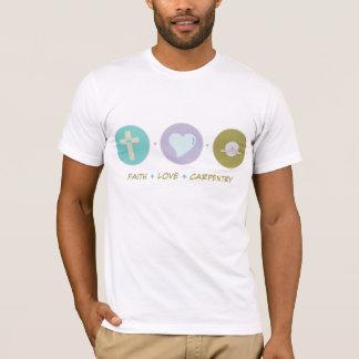 T-shirt Menuiserie d'amour de foi
