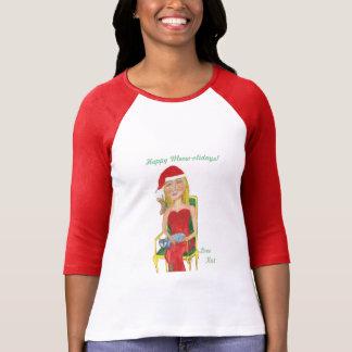 T-shirt Meow-olidays heureux ! Amour KAT