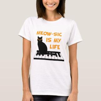 T-shirt Meow-SIC est ma vie