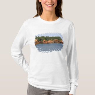 T-shirt Mer de personnes kayaking dans la baie de Fundy au