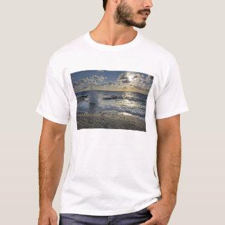 T-shirt Mer des Caraïbes, Îles Caïman.  Vagues se