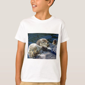 T-shirt Mer-loutres