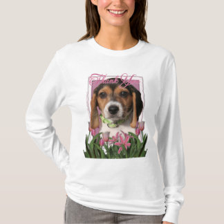 T-shirt Merci - chiot de beagle