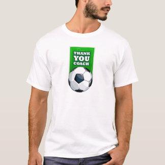 T-shirt merci entraîneur du football