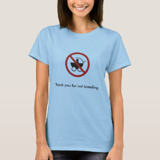 T-shirt Merci pour pas l'élevage (f)