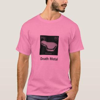 T-shirt mercure, métal de la mort