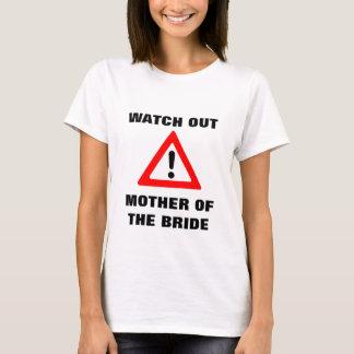 T-shirt Mère de chemise de jeune mariée